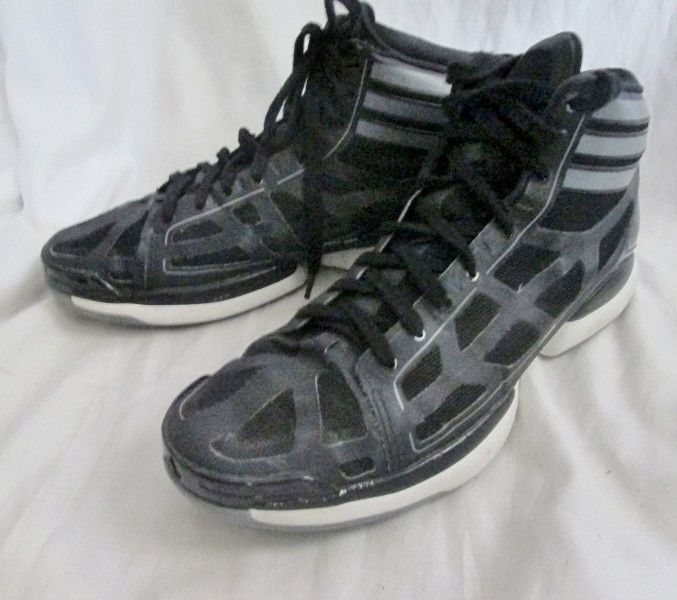 newest collection 670d4 b5518 Mens Adidas Crazy Shadow 2 Basketball Shoe ADIZERO Black Hi-Top Sneakers 15  Sprint