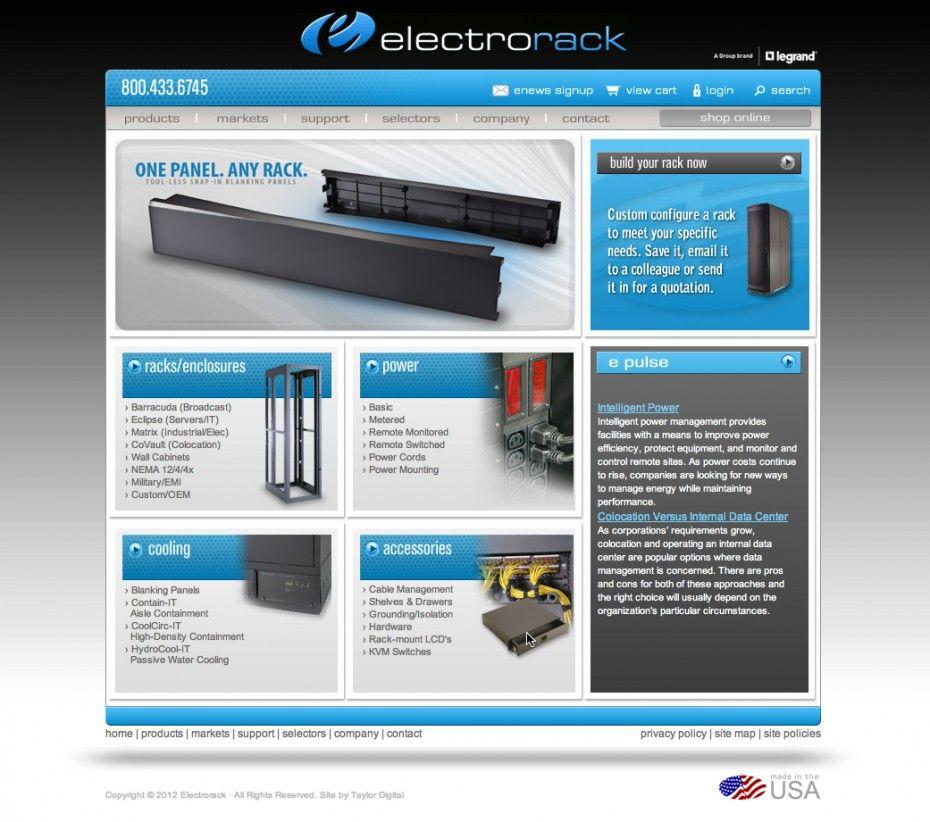 Electrorack - Rack Enclosures | Recent Portfolio Items