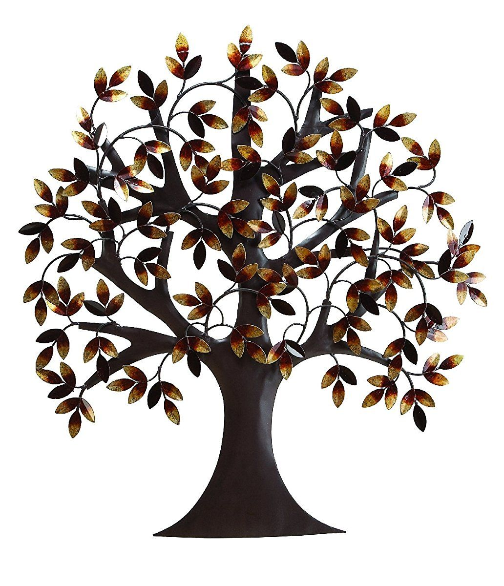 Deco 79 Metal Tree Wall Decor For Elite Class Decor Enthusiasts ...