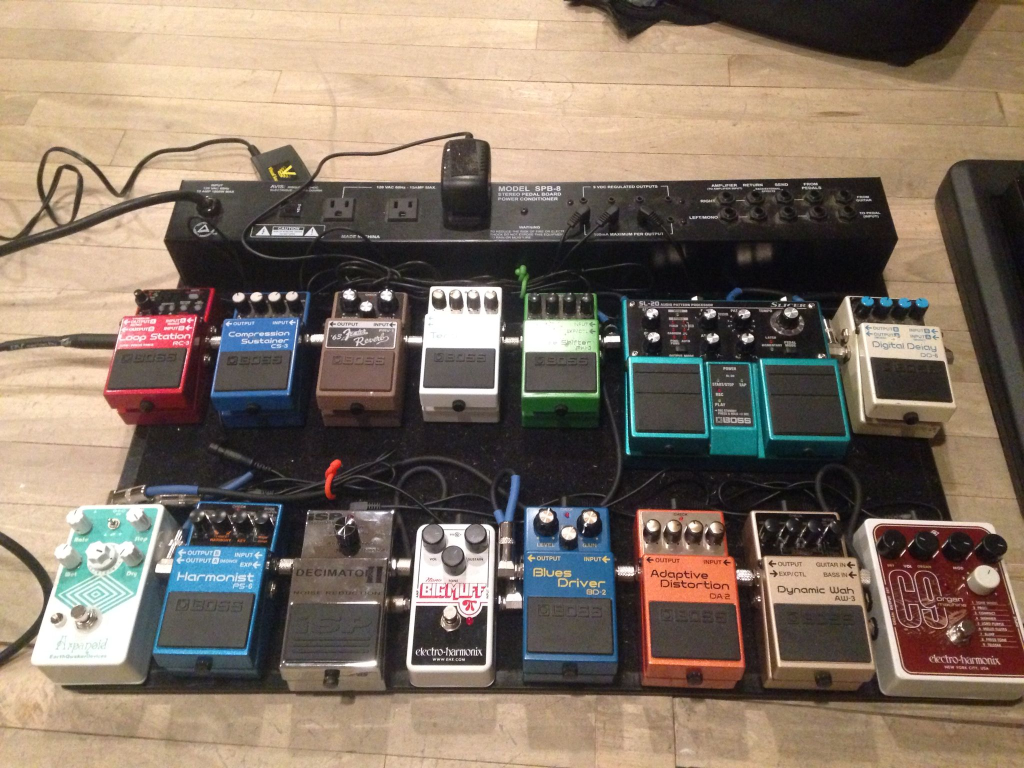 My Guitar Effects Pedal Board A Long Time In The Making
