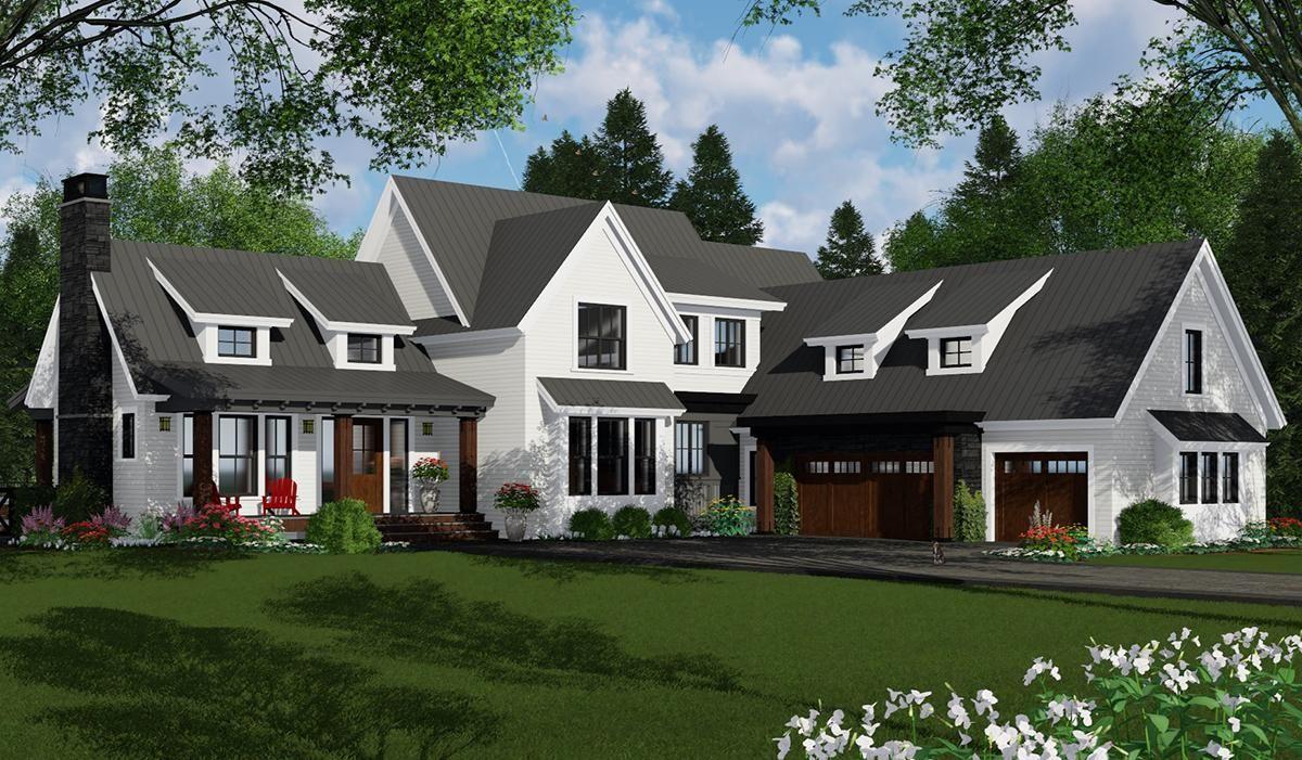 House plan 09800297 modern farmhouse plan 3052 square
