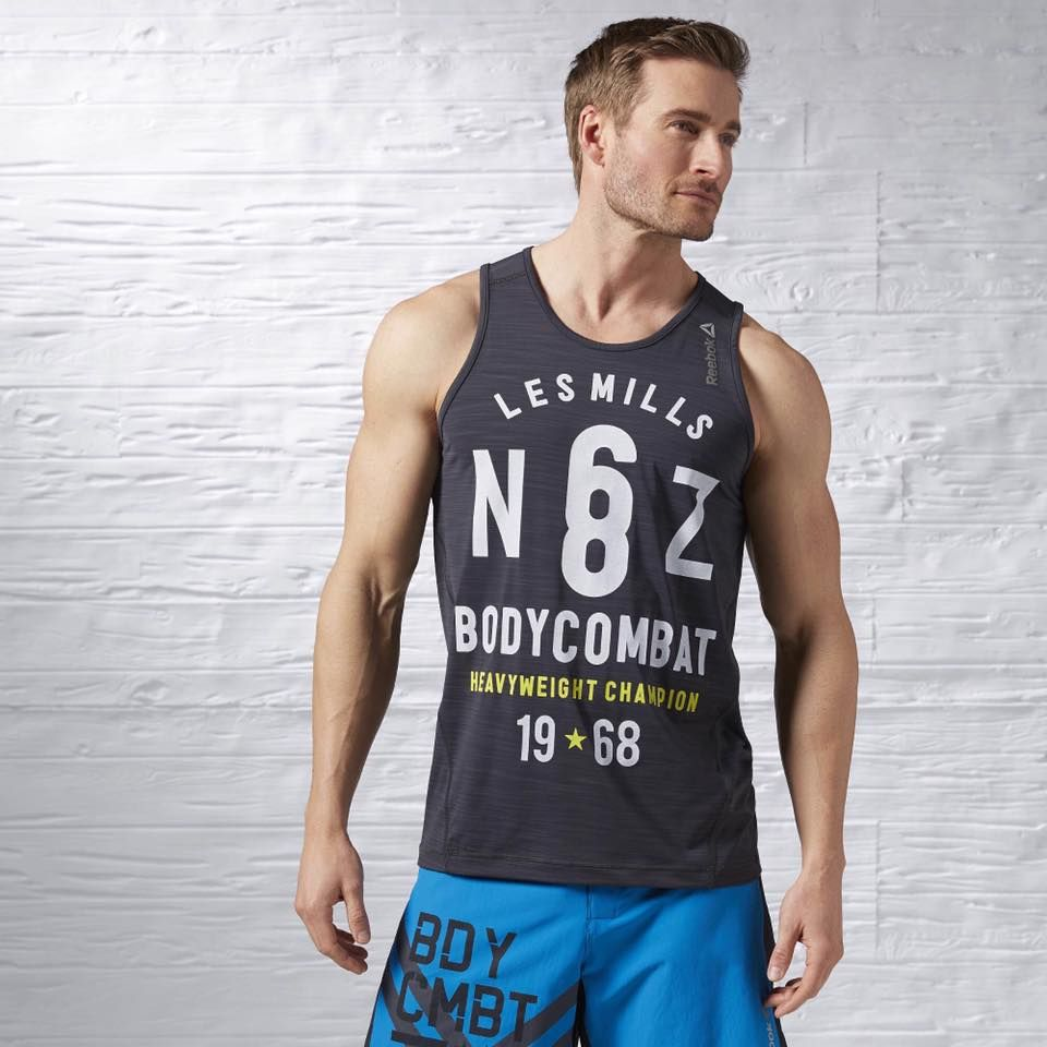 Pin by ParkFiks on Reebok Les Mills | Mens workout tank tops