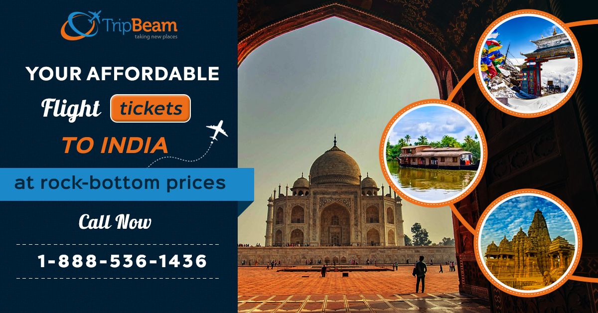 Now travel to India at affordable prices. Book your flight to India and get special discount offers  Contact us at: 1-888-536-1436 (Toll-Free), info@tripbeam.ca.  #India #Travellers #Vacations #Destinations #Tourists #ExploreIndia #TriptoIndia #canada #Explore #deals #wanderlust #travel #globe #lastbreath #tripbeam #traveldeals #offers #toronto #cheapflights
