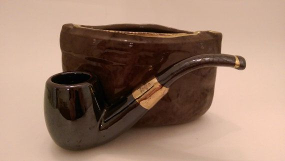 Vintage RUBENS Original Pipe and Tobacco by SheWhoPlaysWithGlass