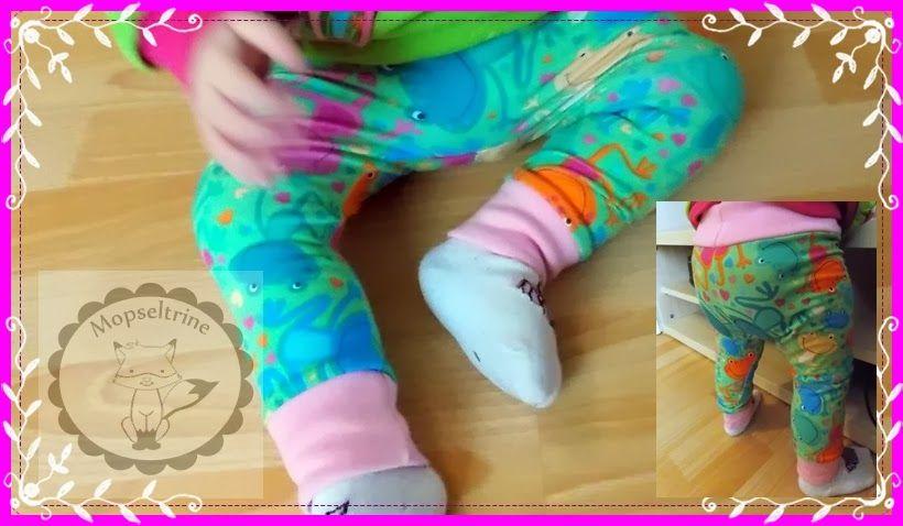 Freebook Leggings bis Gr. 98 | Schnittmuster für Kinder (Kleidung ...