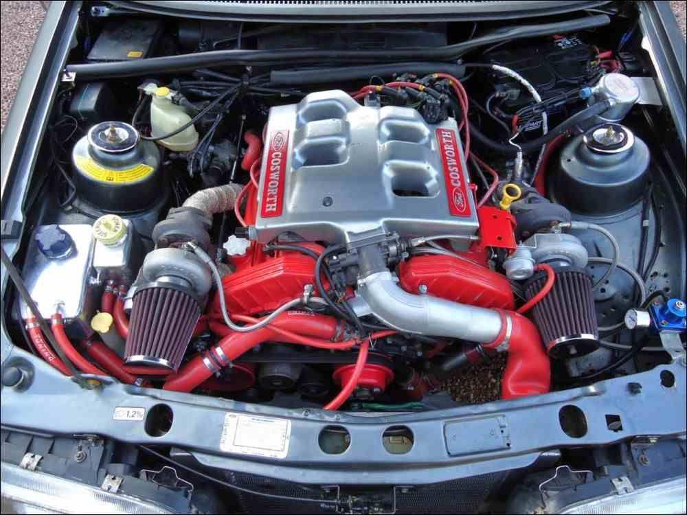 2 9l V6 Cosworth Twinturbo Ford Capri Car Engine Ford