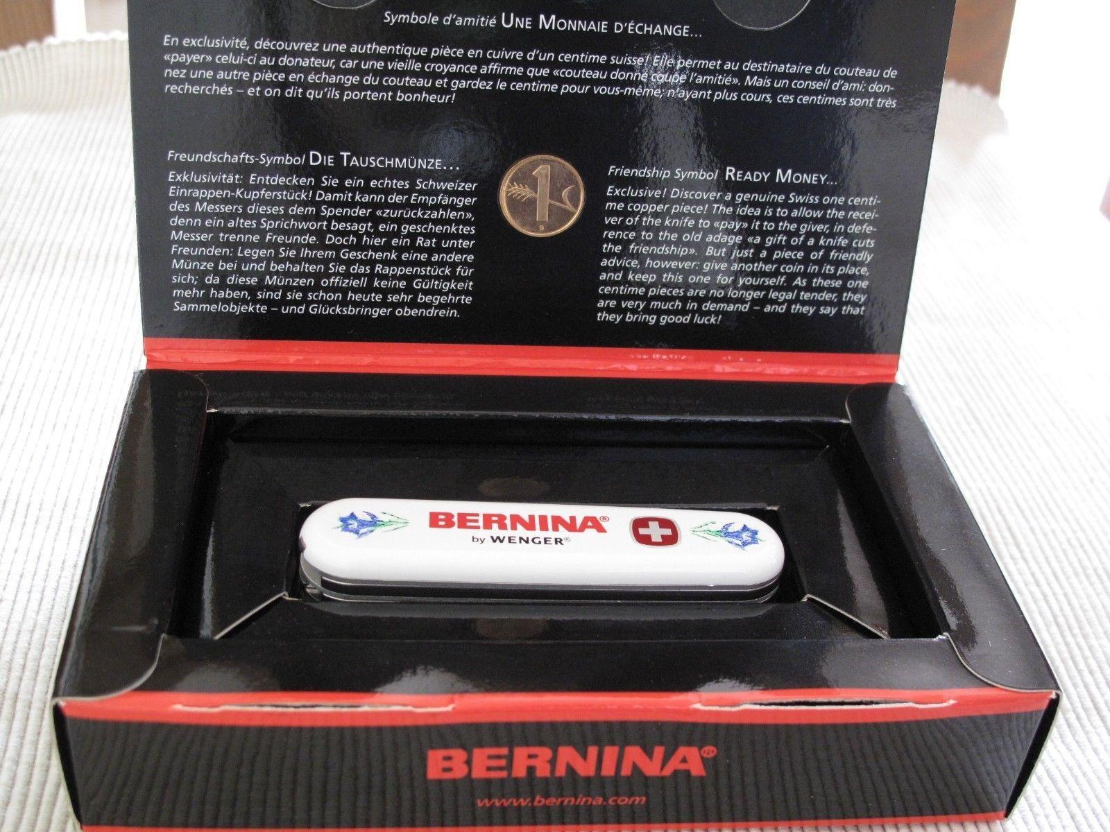 Swiss Army Knife Wenger Bernina Rare Ebay Sewing Tools