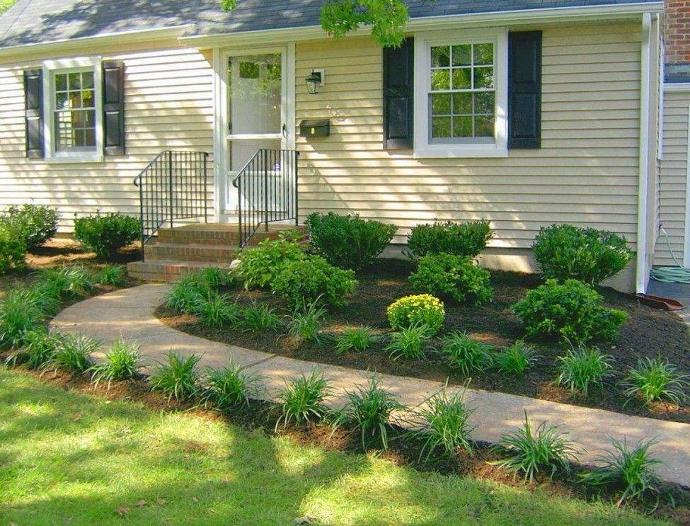Beau Frontyard Garden Design The Simply Minimalist Design Garden For Simply Small  Classic House Design Decoration Best Landscaping Ideas For Front Of House  ...