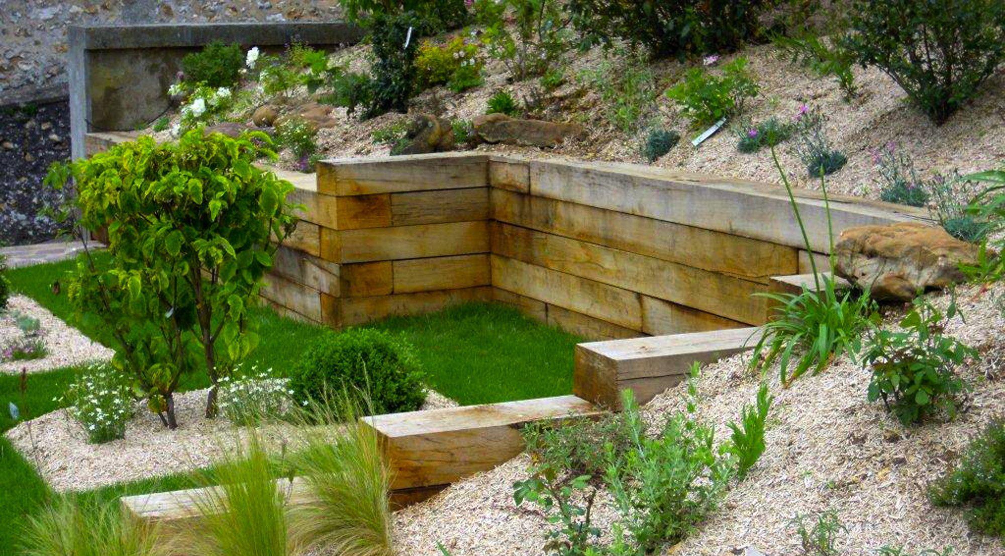 aménager la butte future maison jardin dans le jardin la maison ...