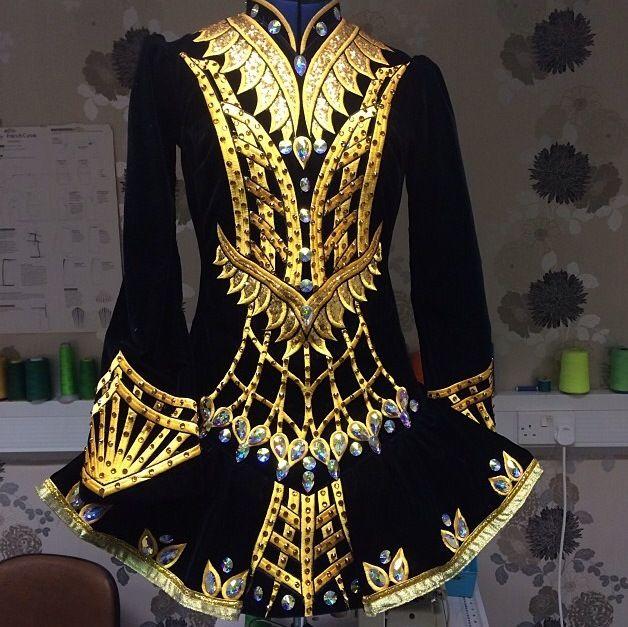 Celtic Star 2014 Irish Dance Solo Dress Costume