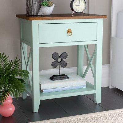 Beachcrest Home Landau 1 Drawer Nightstand Furniture Nightstand Home Furniture Online