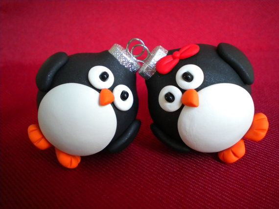 Penguin Christmas Ornaments / Photo Holders | Photos, Photo ...