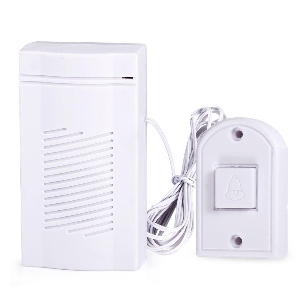 Simple Design Wired Alarm Doorbell Loud sound volume Door bell Mini ...