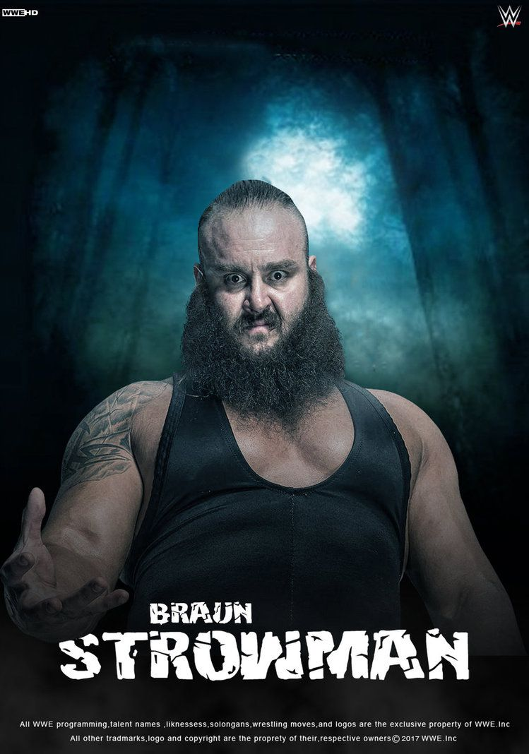 Wwe braun strowman 2017 poster by on deviantart art - Braun strowman theme ...