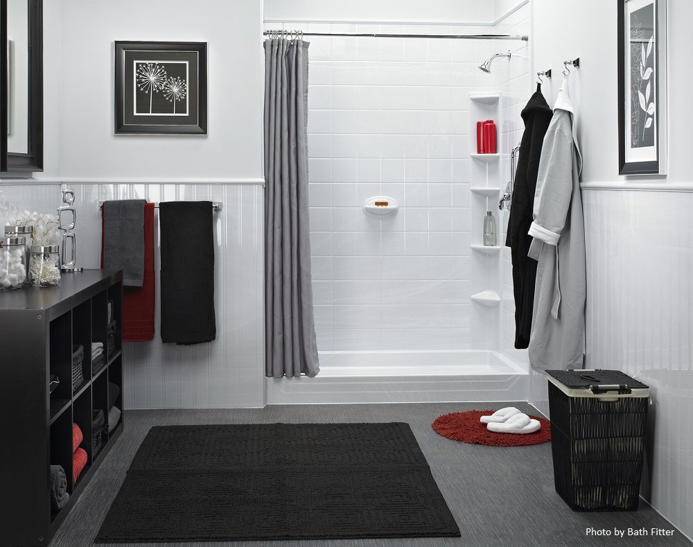 Hot Trends For A Boring Bathroom Bathtub Shower Remodel Bath Fitter Tub To Shower Conversion