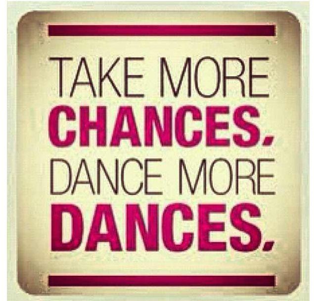 Chances and dances