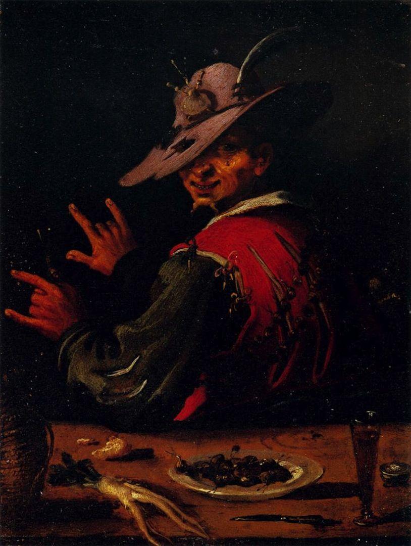 Filippo Napoletano, The Snail Seller, 17th century