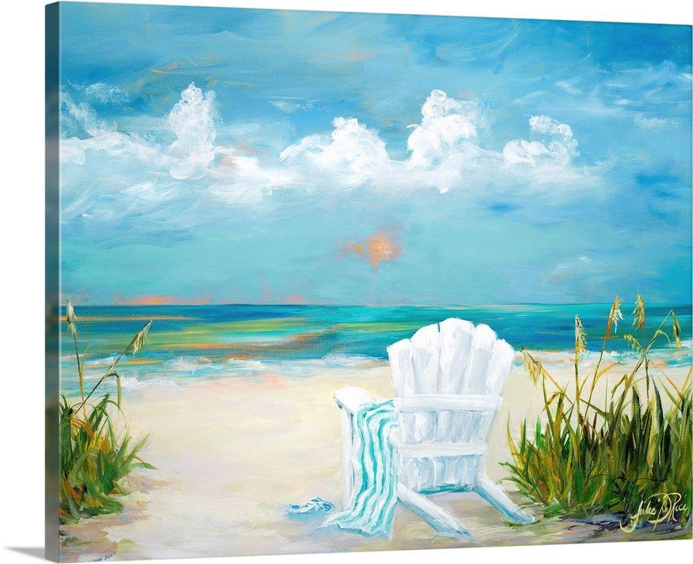 Beach scene ii in 2020 beach scene painting abstract