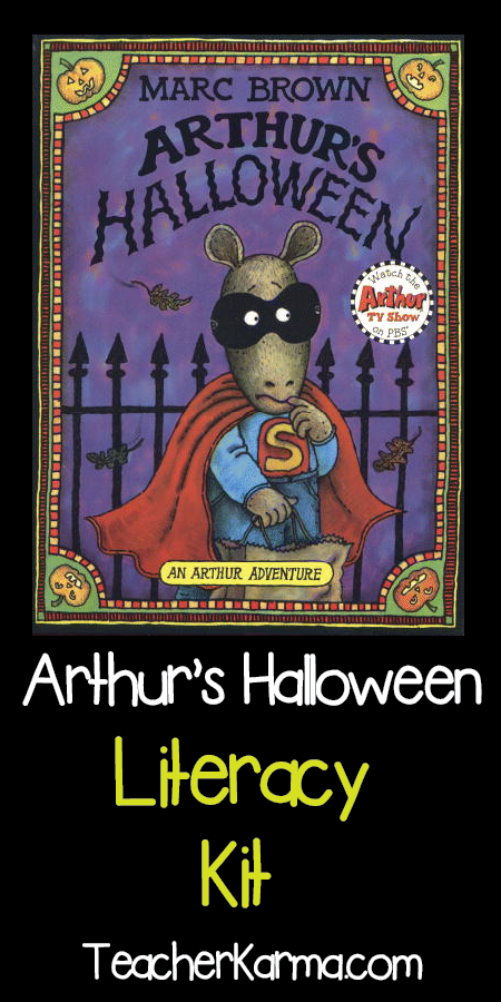 Arthur's Halloween Literacy Kit ~ Story Elements ~ Reading ...