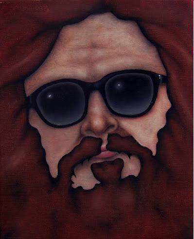 Juaquin (Rap Master) | Cooney Brothers davidcharlesfoxexpressionism.com #leighcooney #lowbrowart #rolocooney #cooneybrothers #outsiderart #neofolk #satire #surrealist