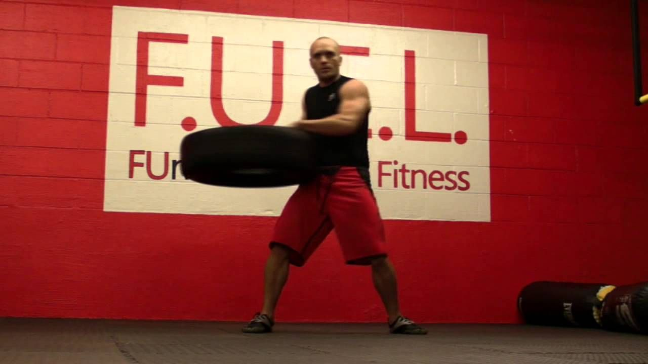 Whole Body Workout With A Car Tire Whole Body Workouts