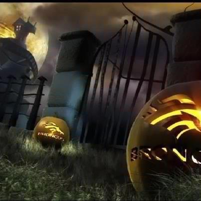 Bronco halloween(: