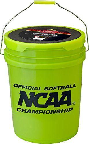 Rawlings Sporting Goods B518 Softball Bucket & 18 Cork