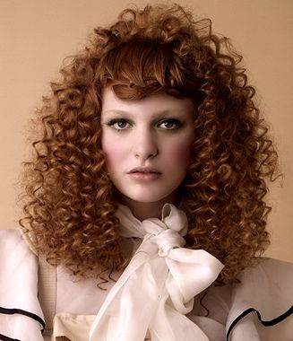 Curly Hairstyle Ideas