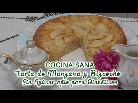 Bizcocho de yogur y limón Sin azúcar apto para diabéticos - YouTube