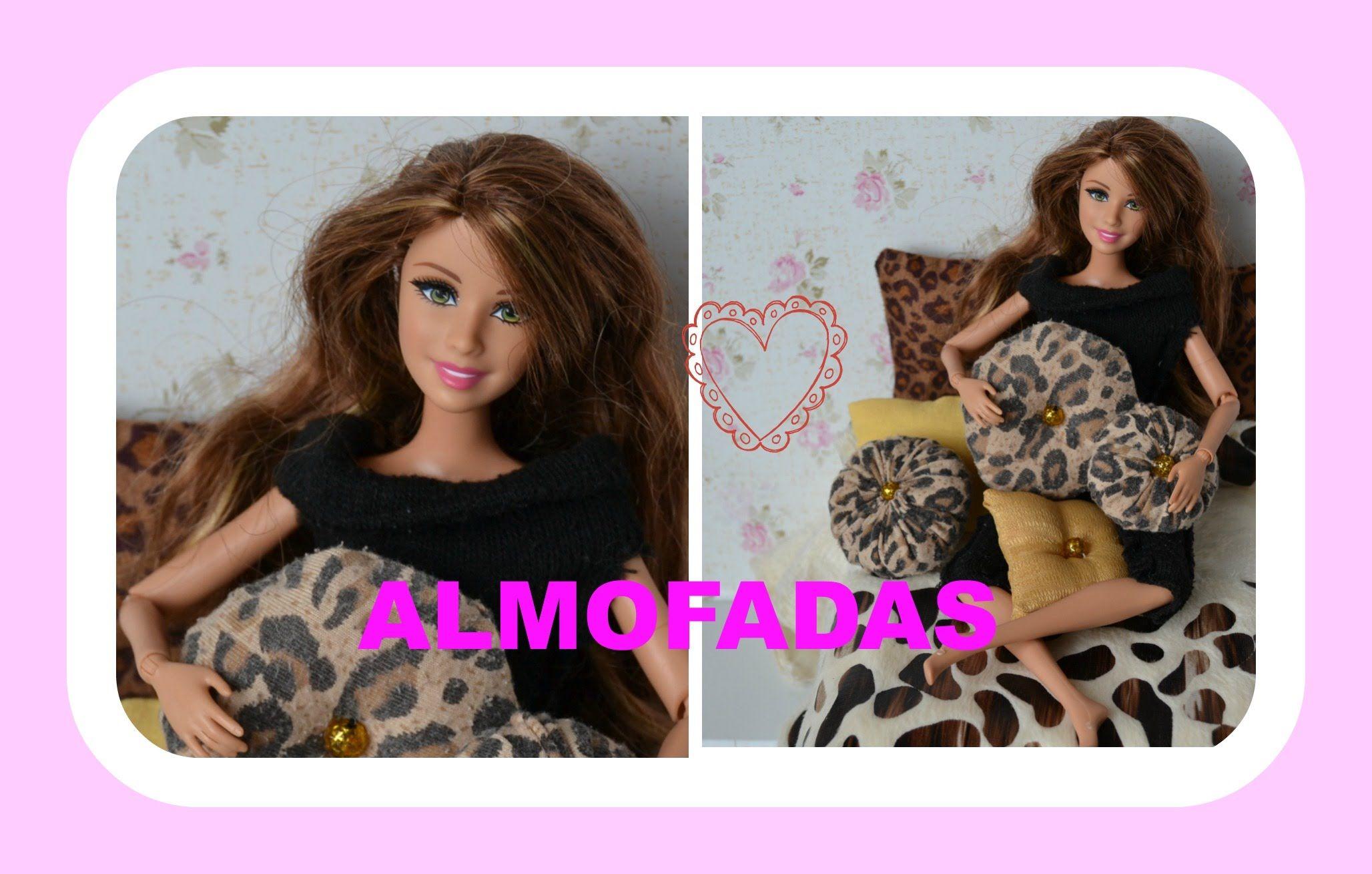Como fazer almofadas para a Barbie