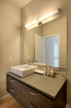 Off Center Bathroom Sink Google Search Modern Bathroom Sink