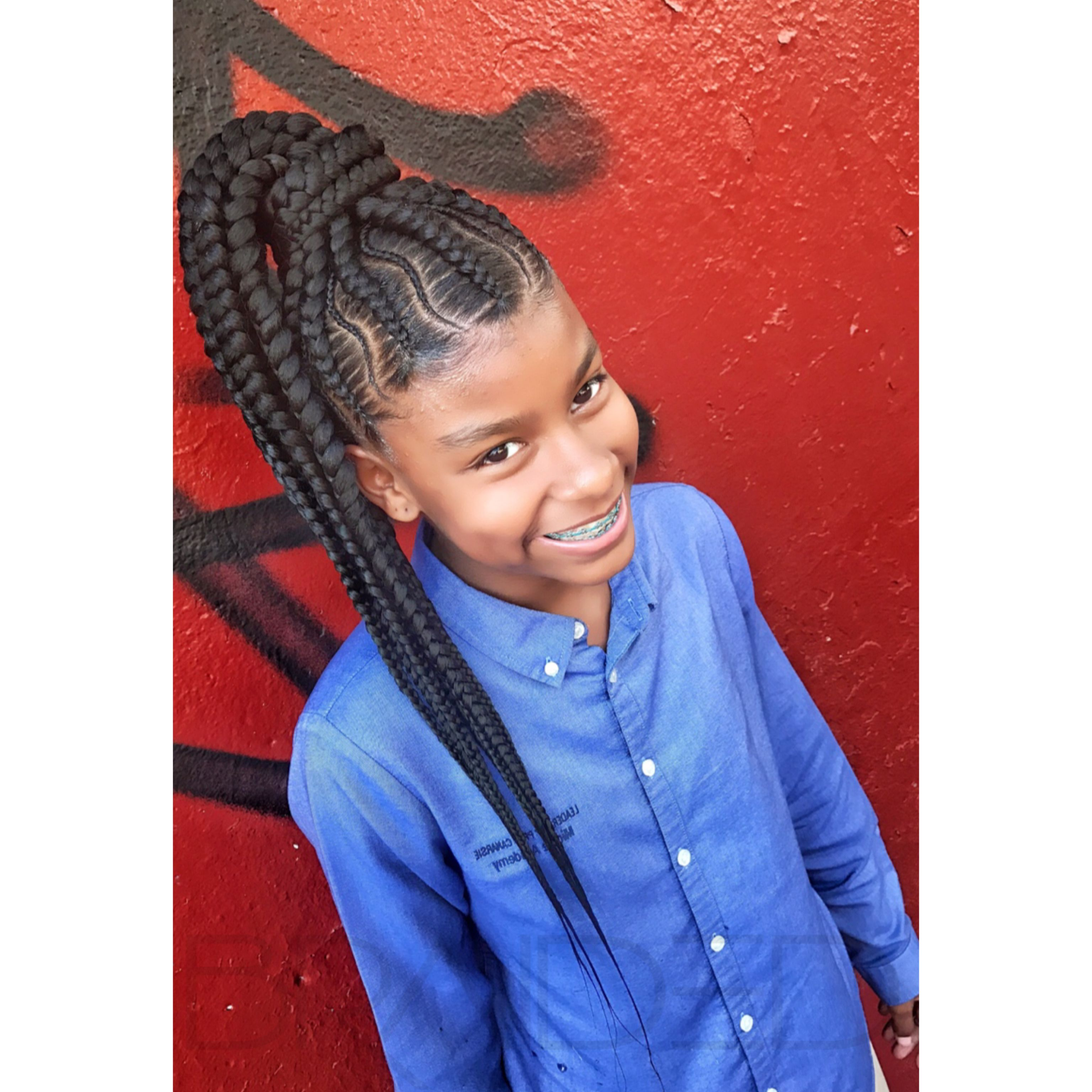 Lashontae Heckard French Braids Information Keywords And Pictures