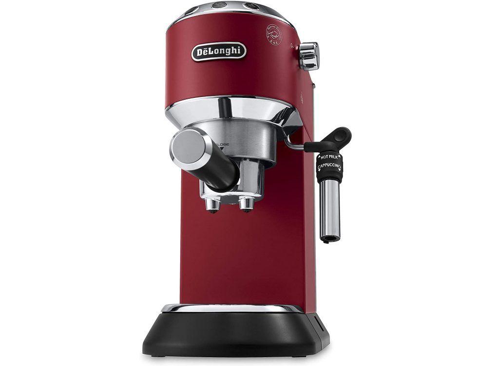 ماكينة ديلونجي لتحضير قهوة الإسبريسو بمضخة من ديديكا ستايل In 2020 Espresso Machine Cappuccino Machine Espresso Maker