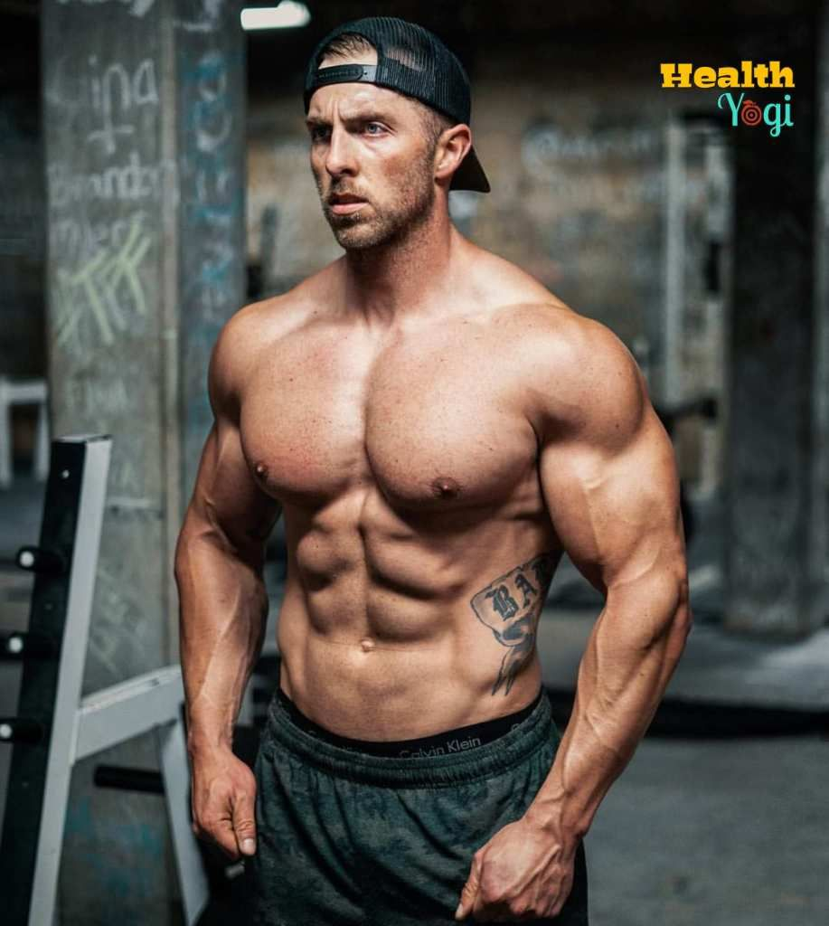 Nick Bare Workout Routine And Diet Plan Workout Routine Fitness Regime Bare Fitness