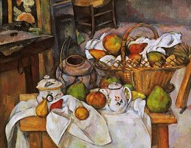 Stampe Da Cucina : Paul cézanne; tavolo da cucina; 1889; olio su tela; musée dorsay