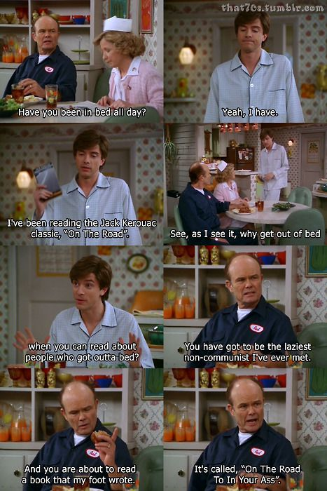 A day in the Foreman household / That 70s Show