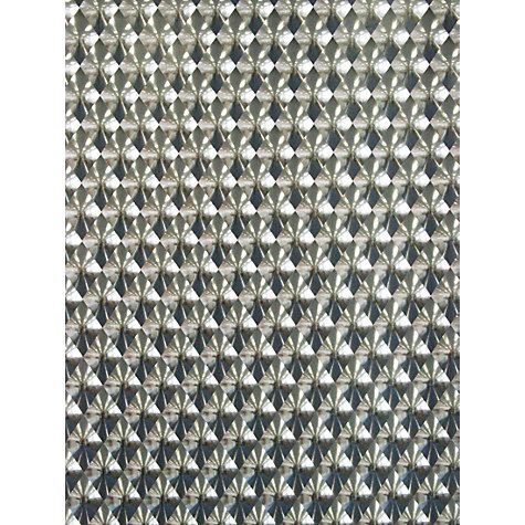 Buy Osborne Little Rombico Wallpaper Holographic Silver W6037 01 Online At Johnlewis
