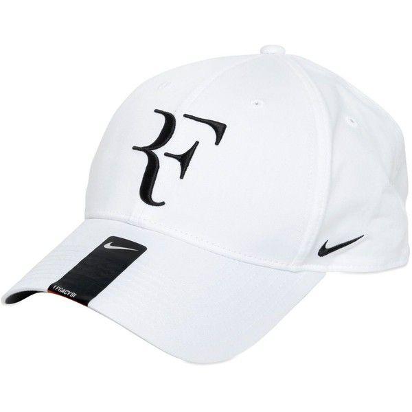 81066885a4d Nike Men Roger Federer Nylon Baseball Hat (€34) ❤ liked on Polyvore  featuring men s fashion