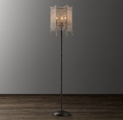 Coco crystal floor lamp ruby scouts room pinterest floor lamp coco crystal floor lamp aloadofball Images