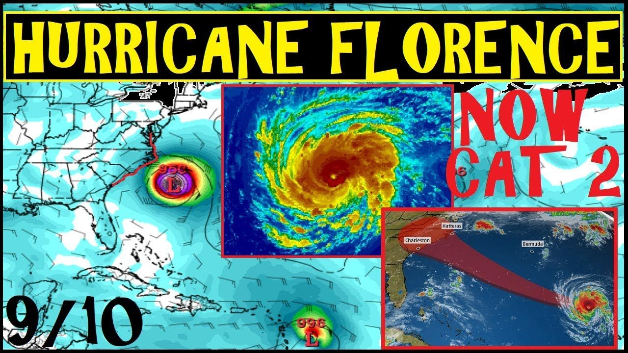 Hurricane Florence Now Cat 2 Update On Path And Timing Web Out Things That Really Help Others As Many Only Have Soc Media And Nothing Cats Cat 2 Hurricane