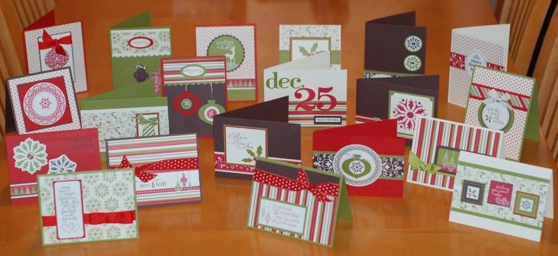 Christmas Jingle Card Class by roseluvseric - Cards and Paper Crafts at Splitcoaststampers