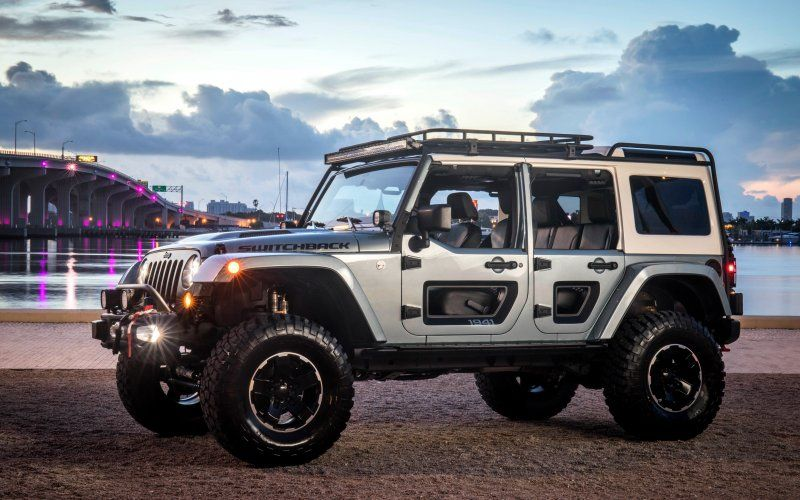 Jeep Switchback Concept Suv 4x4 Side View Car Car Wallpapers