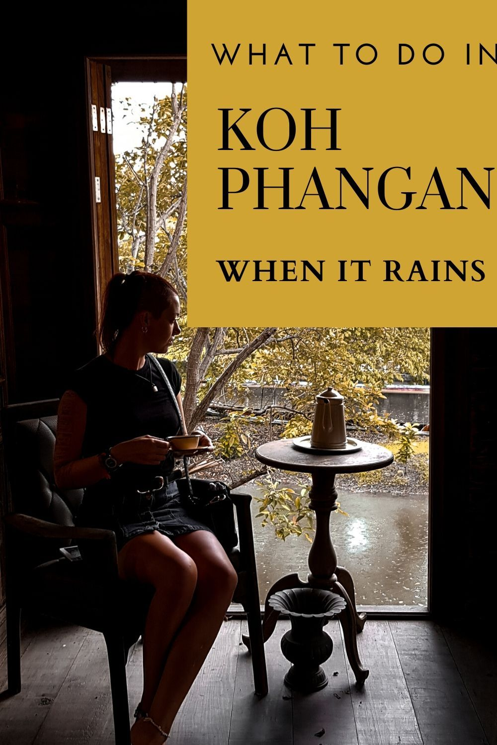 When it rains in Koh Phangan it rains hard and can last for days. Considering most activities in Koh Phangan are outdoors, there just doesn't seem to be much to do on Koh Phangan when it does rains. But check out our list for indoor activities !   #kohphangan #thailand #thailandtravel #travelthailand #bestdestination #rainydays #itinerary #traveladviceandtips #adventuretravel #islandstyle