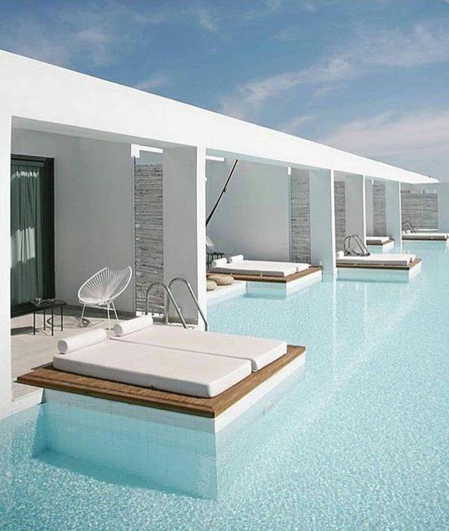 Piscina compartida Architecture Pinterest Bain de soleil - amenagement bord de piscine