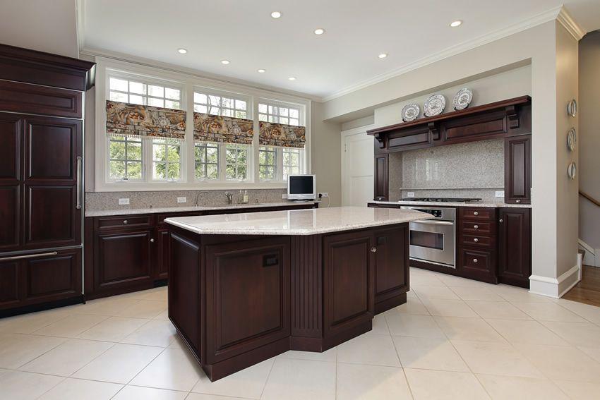 Luxury Kitchen Design Ideas Custom Cabinets Part 3 Dark Wood