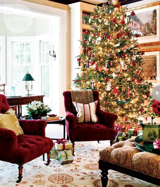 Decorating Home Interior Consultant Decorated Christmas Tree Russian  Christmas Decorations 550x643 Living Room Ideas Small Spaces