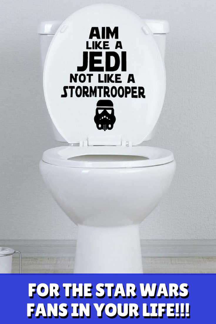 Funny Star Wars Decor for the Bathroom, Perfect gift for Father\'s ...