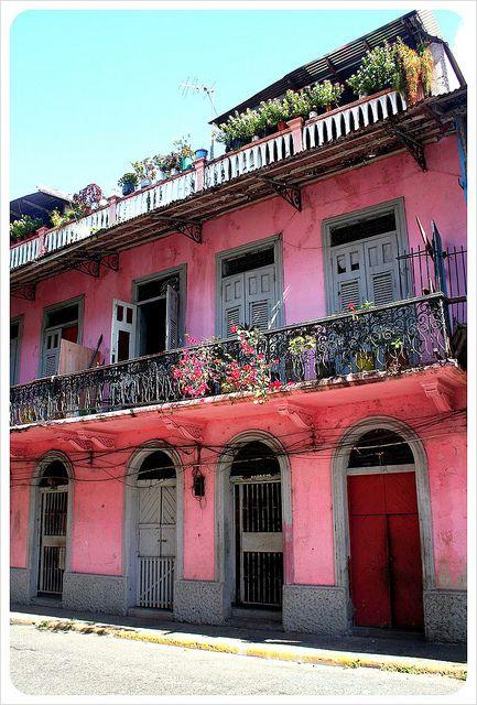 Casco Viejo. Panama City's historic quarter.