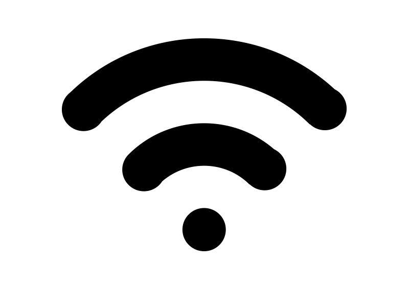 Wifi Symbol Vector Download | Wifi icon, Symbols, Electronics logo design
