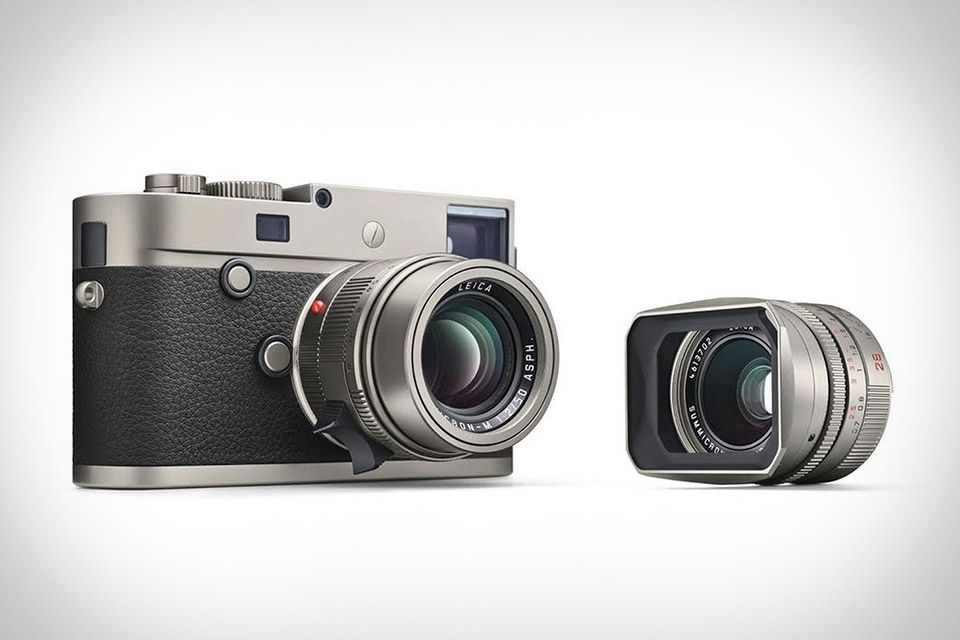 The fifth annual edition to be made in titanium, the Leica M-P ...